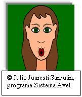 """Imagen correspondiente al ejercicio logocinético labial: sacar los labios hacia fuera en forma de """"o"""""""